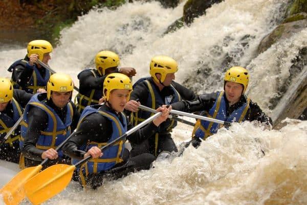 Rafting sur la Cure - AN Rafting