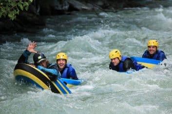 Hydrospeed in Savoie