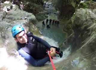 canyoning savoie bourg saint maurice