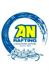 logo an rafting activité outdoor