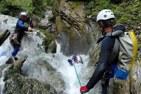 Canyoning Haute-Savoie